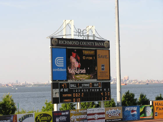 The Scoreboard Too @ Richmond County Ballpark