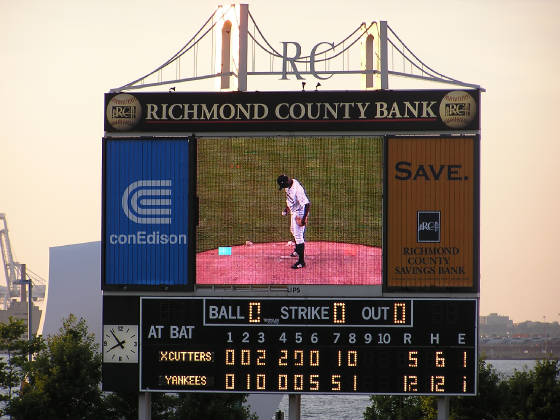 The Scoreboard @ Richmond County Ballpark